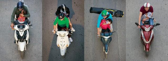 Bộ ảnh Bộ tứ siêu đẳng nhìn giao thông Hà Nội từ trên cao gây sốt cộng đồng mạng vì bắt khoảnh khắc quá chất - Ảnh 4.