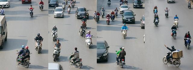 Bộ ảnh Bộ tứ siêu đẳng nhìn giao thông Hà Nội từ trên cao gây sốt cộng đồng mạng vì bắt khoảnh khắc quá chất - Ảnh 6.