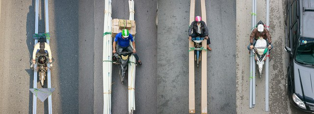 Bộ ảnh Bộ tứ siêu đẳng nhìn giao thông Hà Nội từ trên cao gây sốt cộng đồng mạng vì bắt khoảnh khắc quá chất - Ảnh 10.
