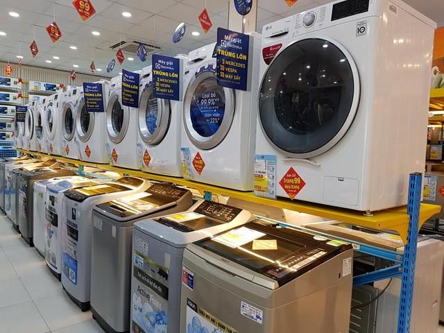 Bên trong cửa hàng Điện máy Xanh mới, không gian tăng gấp 3, doanh thu khủng  - Ảnh 1.