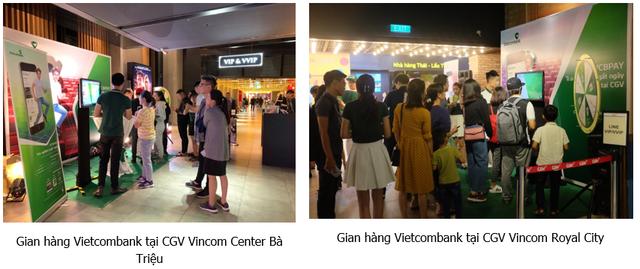 Đến CGV trải nghiệm VCB Pay của Vietcombank và nhận vé xem phim, combo bỏng, nước - Ảnh 1.
