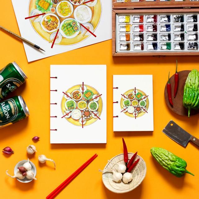 Monosketch: Startup thương mại hóa tác phẩm của họa sĩ trẻ Việt lên sổ tay, tranh treo tường, bưu thiếp... - Ảnh 6.