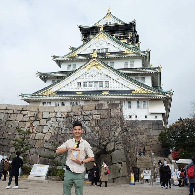 Chàng du học sinh Nhật mang di ảnh bố mẹ đi khắp thế gian: Ba má ơi, mình đi đâu tiếp? - Ảnh 3.