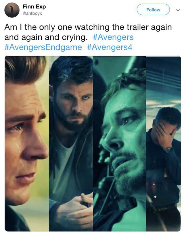 Phản ứng của internet sau khi xem trailer Avengers 4: Lần cuối cùng phim có cảnh này, Steve đã chết - Ảnh 7.