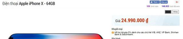 Mua iPhone X với giá 17 triệu: Tôi được gì và mất gì? - Ảnh 2.