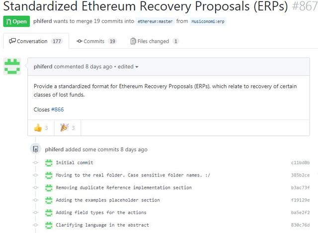 Cộng đồng phát triển Ethereum kêu gọi mở cuộc thảo luận công khai về hoàn trả lại tiền do sự cố - Ảnh 2.