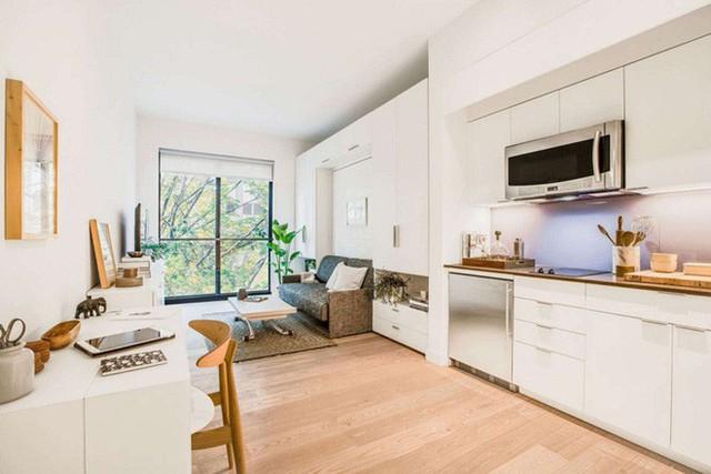 Diện tích chỉ khoảng 25m², căn hộ này đã khiến cho nhiều người không khỏi ngỡ ngàng vì sự tiện nghi của nó - Ảnh 1.