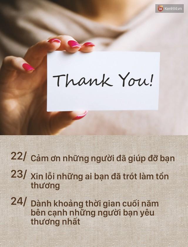 Đây là danh sách 24 việc cần hoàn thành ngay trong ngày cuối năm! - Ảnh 8.