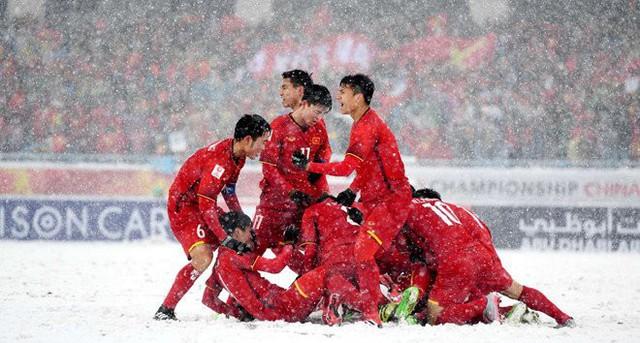 Truyền hình Nhật Bản dùng U23 Việt Nam truyền cảm hứng cho Thế vận hội 2020 - Ảnh 1.