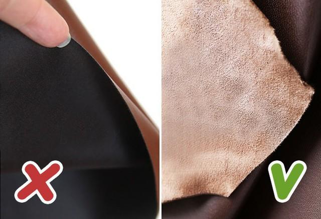 Cẩm nang 8 bí kíp giúp bạn phân biệt da thật và giả da - Ảnh 3.