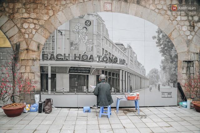 Phố bích họa Phùng Hưng hồi sinh, trở thành phố đi bộ kết nối với không gian chợ Đồng Xuân - Ảnh 5.