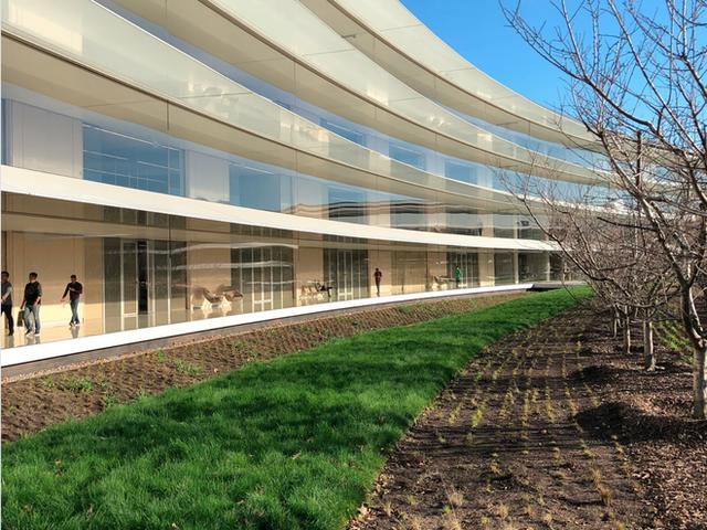 Chiêm ngưỡng ảnh chụp từ bên trong trụ sở 5 tỷ USD mới của Apple - Ảnh 3.