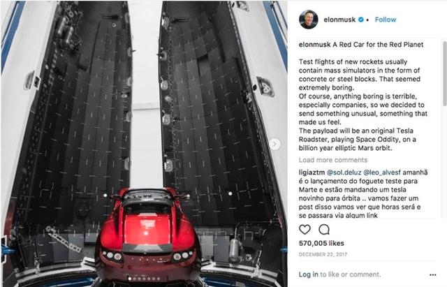 Elon Musk phóng xe Tesla Roadster vào vũ trụ vừa để chứng minh với thế giới, vừa là một chiêu marketing xuất chúng - Ảnh 2.