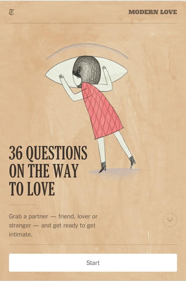 Muốn yêu bất kỳ ai, chỉ cần hỏi và trả lời 36 câu hỏi này, kể cả với người lạ: Đảm bảo có gấu mùa lễ tình yêu! - Ảnh 1.