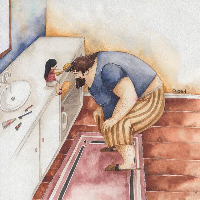 Phần tiếp theo của bộ tranh Vì con gái nhỏ, cha sẽ làm tất cả từng khiến cư dân mạng rưng rưng - Ảnh 13.