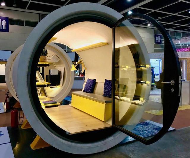 Giá nhà quá đắt đỏ, các kiến trúc sư Hồng Kông nghĩ ra cách xây dựng căn hộ mini bằng ống nước bê tông - Ảnh 1.