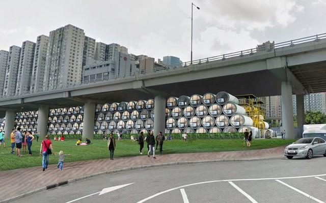 Giá nhà quá đắt đỏ, các kiến trúc sư Hồng Kông nghĩ ra cách xây dựng căn hộ mini bằng ống nước bê tông - Ảnh 7.