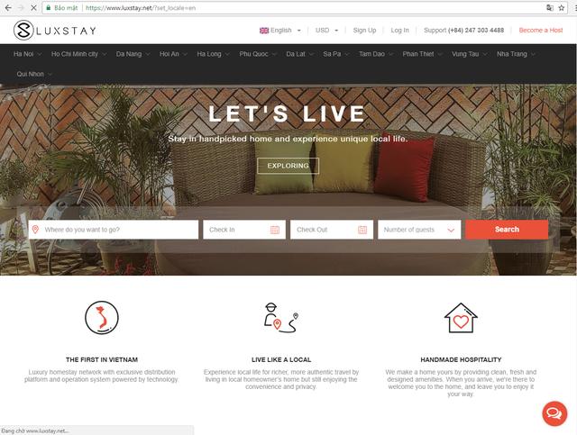 'Tranh thủ' Airbnb chưa chính thức nhập cuộc, Startup chia sẻ căn hộ của Việt Nam gọi vốn thành công 2,5 triệu USD - Ảnh 1.