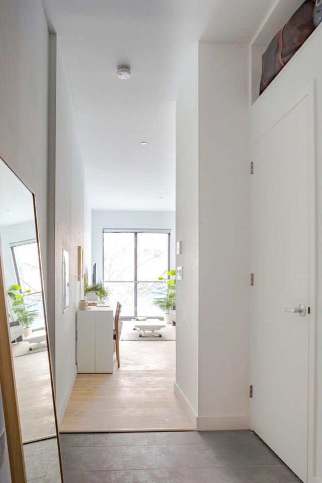 Căn hộ chung cư có diện tích chỉ khoảng 25m² nhưng không thiếu một khu vực chức năng nào mà lại còn đẹp đến ngẩn ngơ - Ảnh 6.
