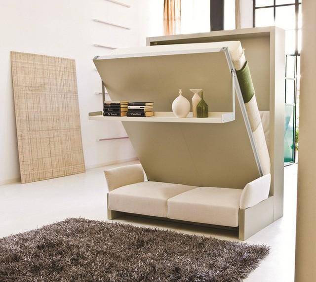 Căn hộ chung cư có diện tích chỉ khoảng 25m² nhưng không thiếu một khu vực chức năng nào mà lại còn đẹp đến ngẩn ngơ - Ảnh 8.