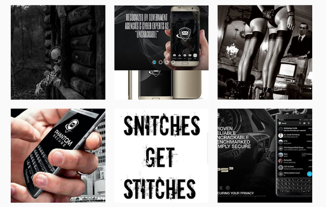 Mặt tối của Instagram: Điện thoại bảo mật dành cho giới tội phạm được bán công khai mà chưa bị cảnh sát sờ gáy - Ảnh 1.