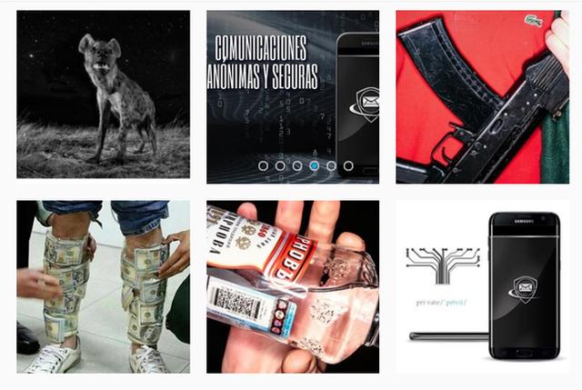 Mặt tối của Instagram: Điện thoại bảo mật dành cho giới tội phạm được bán công khai mà chưa bị cảnh sát sờ gáy - Ảnh 2.