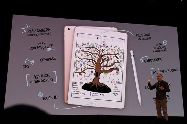 Apple ra mắt iPad mới dành riêng cho giáo dục, màn hình 9,7 inch, hỗ trợ Apple Pencil, giá từ 329 USD, giảm 30 USD nếu dùng cho các tổ chức giáo dục - Ảnh 1.