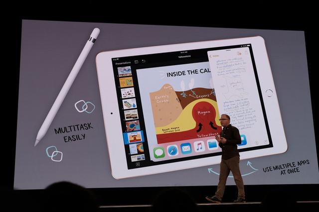 Apple ra mắt iPad mới dành riêng cho giáo dục, màn hình 9,7 inch, hỗ trợ Apple Pencil, giá từ 329 USD, giảm 30 USD nếu dùng cho các tổ chức giáo dục - Ảnh 11.
