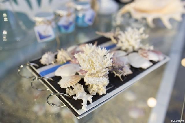 Cận cảnh đám cưới kỳ công xanh màu đại dương của Shark Hưng và cô dâu Á hậu - Ảnh 28.