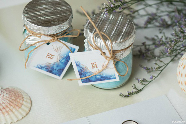 Cận cảnh đám cưới kỳ công xanh màu đại dương của Shark Hưng và cô dâu Á hậu - Ảnh 32.