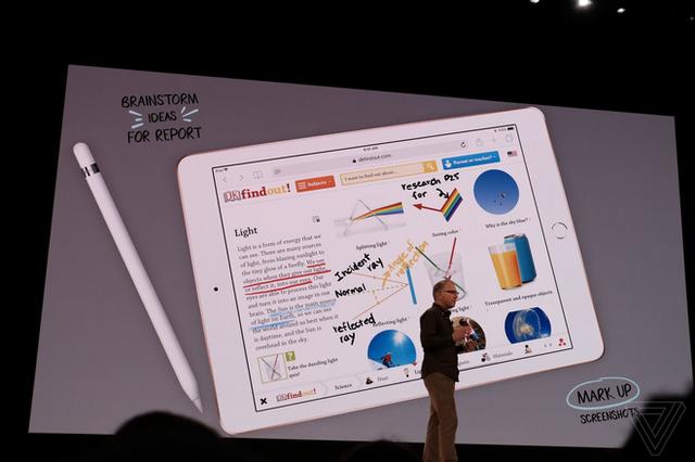 Apple ra mắt iPad mới dành riêng cho giáo dục, màn hình 9,7 inch, hỗ trợ Apple Pencil, giá từ 329 USD, giảm 30 USD nếu dùng cho các tổ chức giáo dục - Ảnh 5.