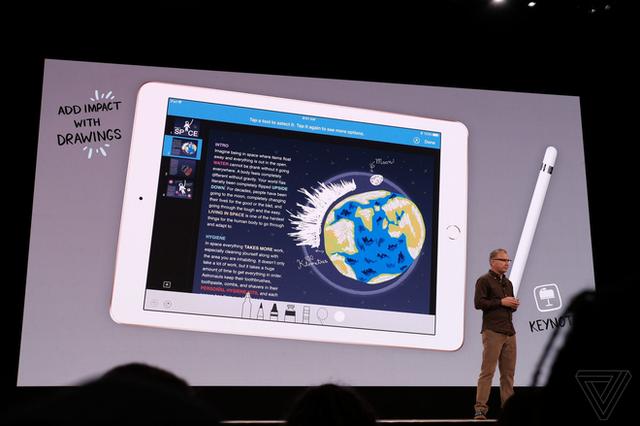 Apple ra mắt iPad mới dành riêng cho giáo dục, màn hình 9,7 inch, hỗ trợ Apple Pencil, giá từ 329 USD, giảm 30 USD nếu dùng cho các tổ chức giáo dục - Ảnh 6.
