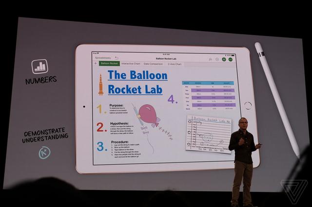 Apple ra mắt iPad mới dành riêng cho giáo dục, màn hình 9,7 inch, hỗ trợ Apple Pencil, giá từ 329 USD, giảm 30 USD nếu dùng cho các tổ chức giáo dục - Ảnh 7.
