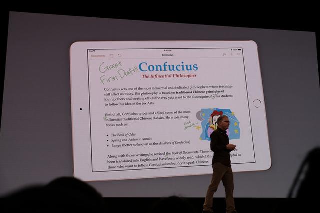 Apple ra mắt iPad mới dành riêng cho giáo dục, màn hình 9,7 inch, hỗ trợ Apple Pencil, giá từ 329 USD, giảm 30 USD nếu dùng cho các tổ chức giáo dục - Ảnh 8.
