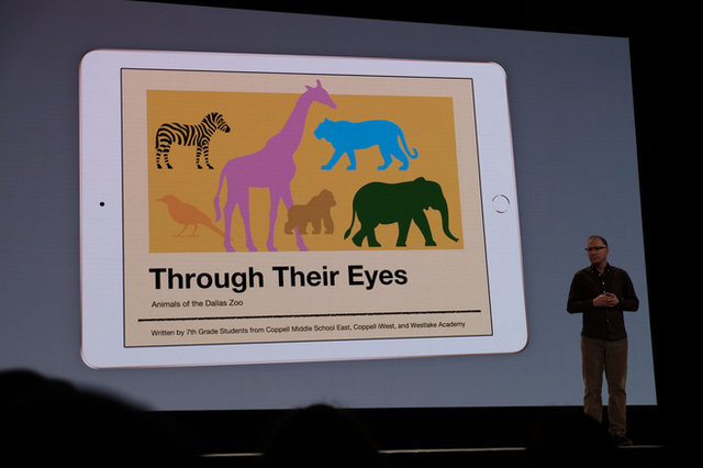 Apple ra mắt iPad mới dành riêng cho giáo dục, màn hình 9,7 inch, hỗ trợ Apple Pencil, giá từ 329 USD, giảm 30 USD nếu dùng cho các tổ chức giáo dục - Ảnh 9.