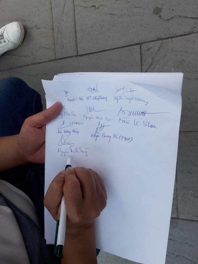 Hà Nội: Cư dân chung cư Hei Tower căng băng rôn phản ánh Trill Group vi phạm an toàn cháy nổ, chủ nhà hàng nói gì? - Ảnh 4.