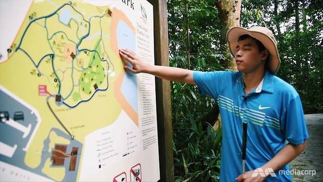 Chàng trai Việt 23 tuổi loại 400 hồ sơ, trở thành coder khiếm thị duy nhất trên toàn khu vực của Grab, làm việc tại trụ sở chính ở Singapore - Ảnh 1.