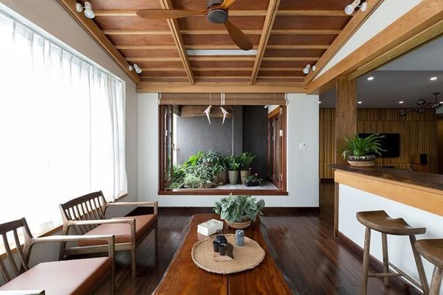 Căn hộ chung cư tràn ngập không gian xanh giữa Thủ đô - Ảnh 1.