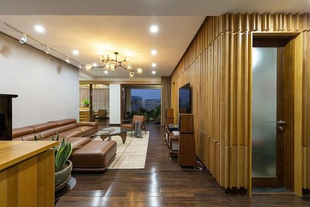 Căn hộ chung cư tràn ngập không gian xanh giữa Thủ đô - Ảnh 3.