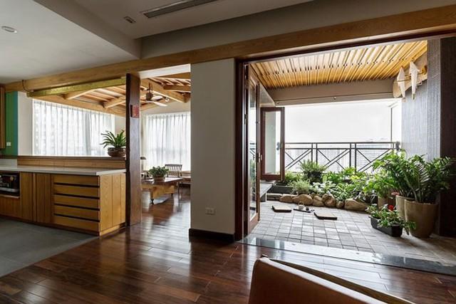 Căn hộ chung cư tràn ngập không gian xanh giữa Thủ đô - Ảnh 6.