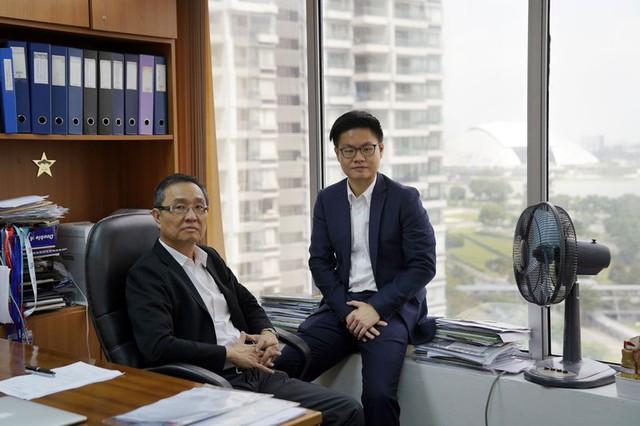 Start-up của hai cha con người Singapore muốn thay đổi quy tắc giao dịch hàng hóa - Ảnh 1.