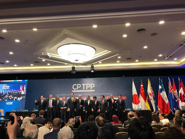 11 nước ký Hiệp định TPP không Mỹ: Đẩy lùi chủ nghĩa bảo hộ - Ảnh 3.