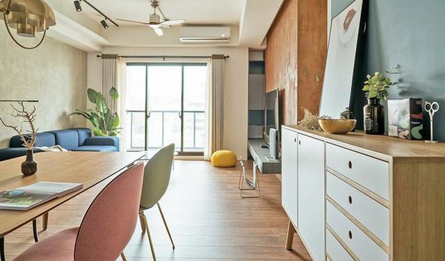 Căn hộ nhỏ vỏn vẹn 35m² trang trí theo phong cách Retro đẹp mê mẩn của cặp vợ chồng trẻ  - Ảnh 7.