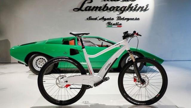 Lamborghini giờ đó tham dự cả vào thị trường xe đạp điện có hai mẫu xe phong mhữngh - Ảnh 2.