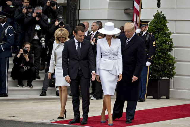 [Chùm ảnh] Quan hệ ấm áp của Tổng thống Pháp - Mỹ - Ảnh 5.