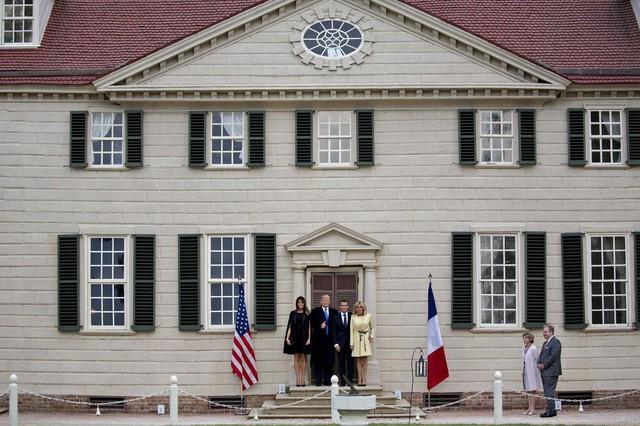 [Chùm ảnh] Quan hệ ấm áp của Tổng thống Pháp - Mỹ - Ảnh 6.