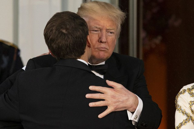 [Chùm ảnh] Quan hệ ấm áp của Tổng thống Pháp - Mỹ - Ảnh 7.