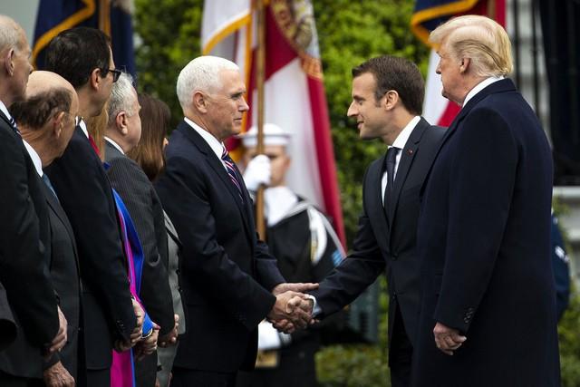 [Chùm ảnh] Quan hệ ấm áp của Tổng thống Pháp - Mỹ - Ảnh 8.