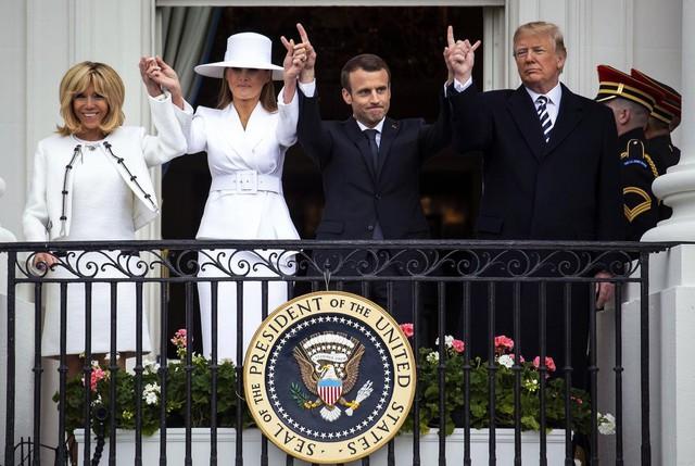 [Chùm ảnh] Quan hệ ấm áp của Tổng thống Pháp - Mỹ - Ảnh 10.