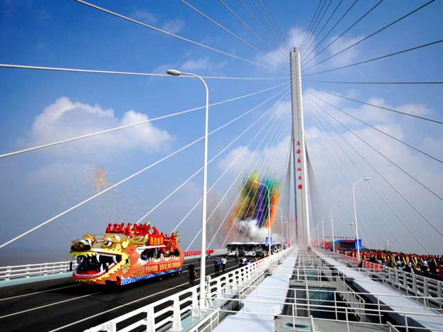 Những siêu dự án khổng lồ cho thấy người Trung Quốc quả là bậc thầy xây dựng khiến cả thế giới phải nể phục - Ảnh 13.